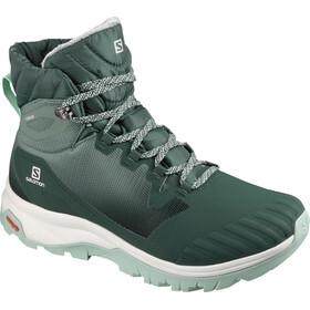 Salomon Vaya Blaze TS CSWP Chaussures Femme, green gables/balsam green/icy morn